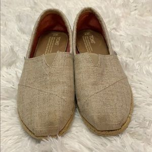 Toma espadrille Flats brown/tan shoes